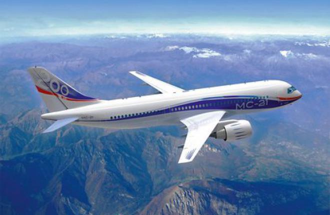 Первый полет самолет МС-21 запланирован на 2015 г.
