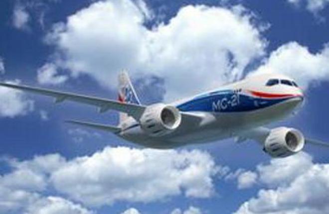 ЦАГИ получил отсек цилиндрической части фюзеляжа самолета МС-21