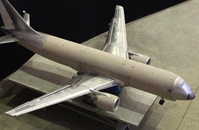 В ЦАГИ испытают крупномасштабную модель самолета МС-21