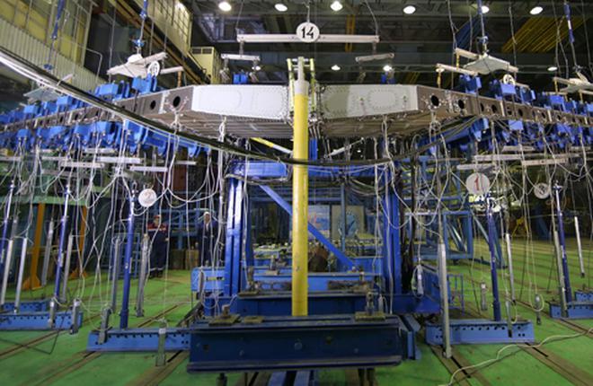 Завершились сертификационные испытания кессона стабилизатора МС-21