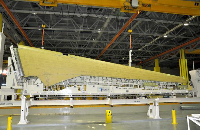 Для МС-21 собрали первую консоль крыла