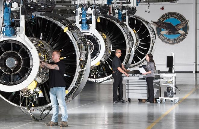 Двигатели PW1100G
