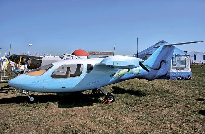 На МАКС привезли опытный образец легкого самолета