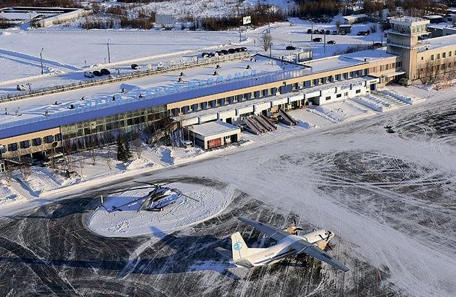 Непогода не раз становилось причиной сбоев в работе воздушной гавани Мурманска