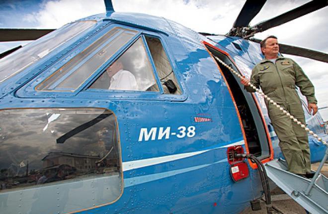 VIP-салон для вертолета Ми-38