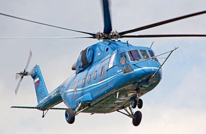 Запуск вертолета Ми-38 в серийное производство планируется в 2014г.