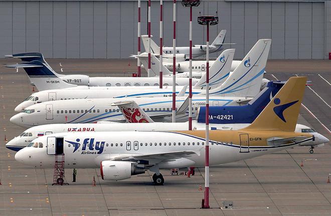 К коммерческой эксплуатации первого Airbus A319 авиакомпания IFly приступила в начале июня :: Леонид Фаерберг / Transport-Photo.com
