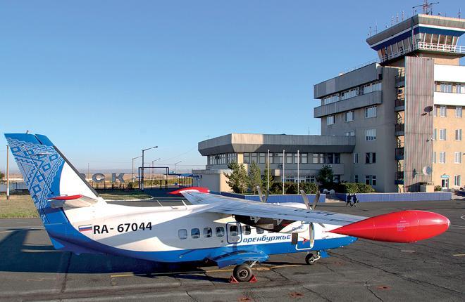 Самолет L-410UVP-E20 авиакомпании «Оренбуржье»