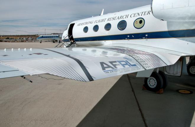NASA испытало крыло с изменяемой задней кромкой