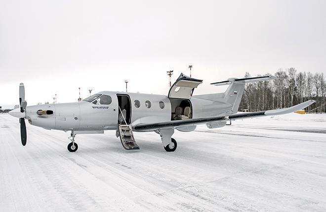 По данным Nesterov Aviation в России летает 13 самолетов PC-12