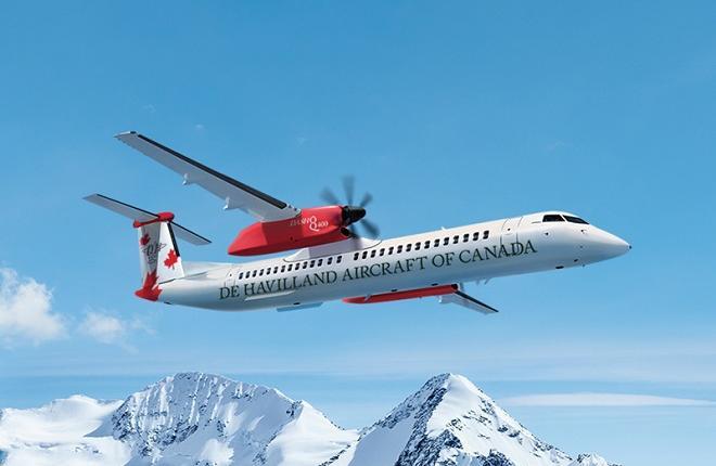 Самолет Dash 8-400