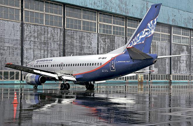 Нордавиа рассчитывает развивать парк за счет Boeing 737-700/800