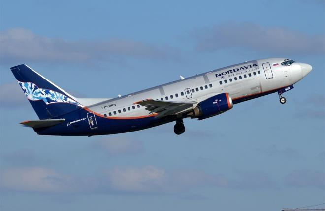 """Boeing 737-500 """"Нордавиа"""""""