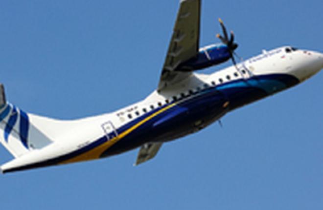 Самолеты ATR 42-500 за год эксплуатации в NordStar налетали 9,33 тыс часов