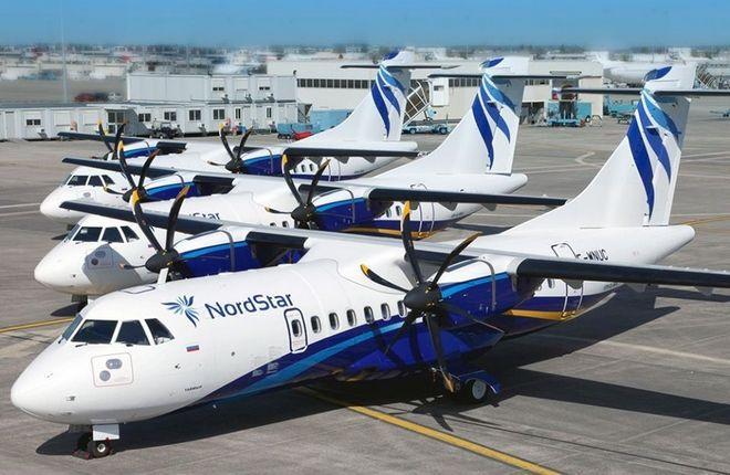 самолеты ATR 42-500 авиакомпании NordStar