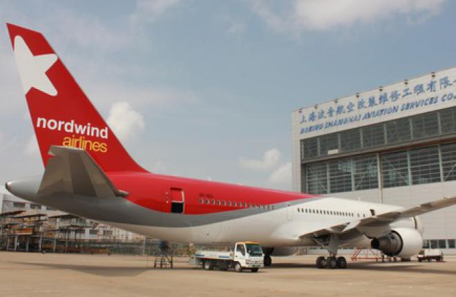 Boeing Shanghai примет на обслуживание Boeing 767 авиакомпании NordWind