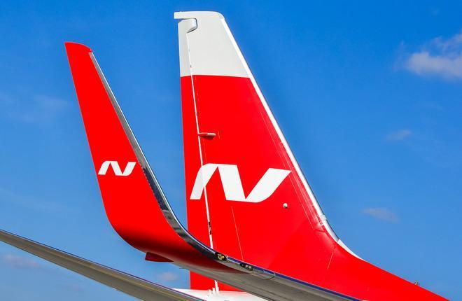 Самолет перевозчика Nordwind Airlines