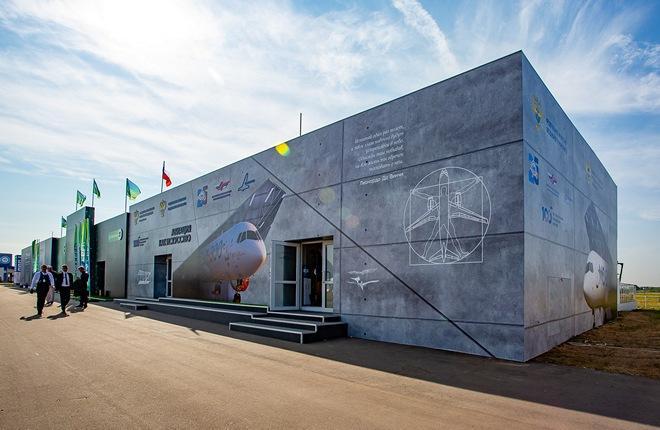 ФГУП «Госкорпорация по ОрВД» на МАКС-2021 приняло участие в реализации концепции «Авиация как искусство»