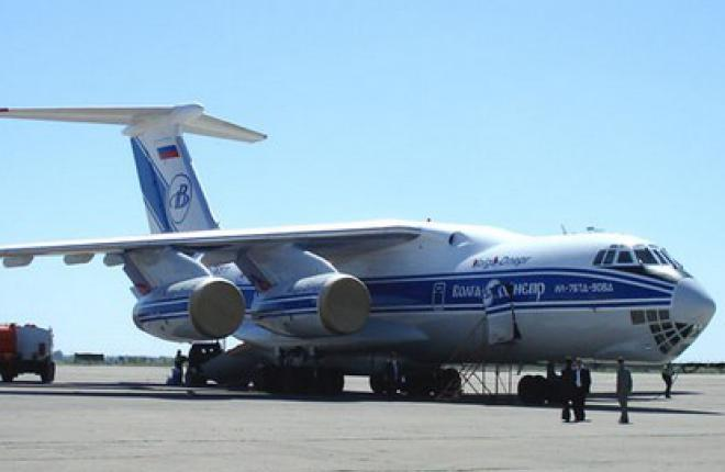 """Авиакомпания """"Волга--Днепр"""" получила новый самолет Ил-76ТД-90ВД"""