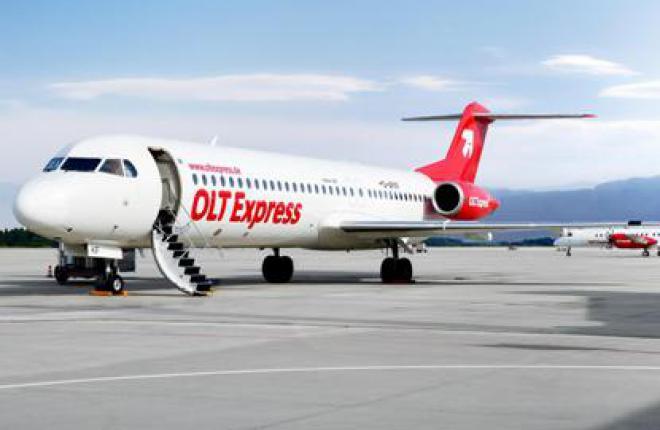Немецкая региональная авиакомпания OLT Express Germany объявила о банкротстве