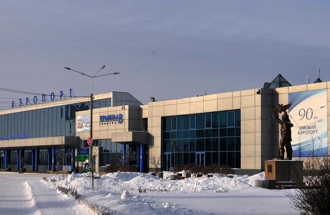 Вид на аэропорт Омска