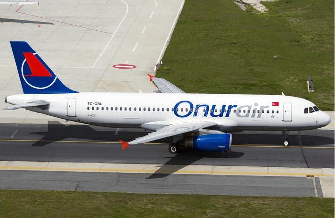 Турецкий лоукостер Onur Air возобновит полеты в Россию