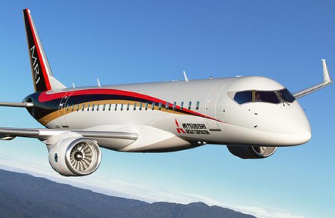 Поставки регионального самолета MRJ перенесены на 2018 год