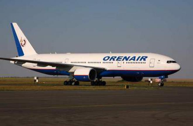 Авиакомпания OrenAir получила второй самолет Boeing 777-200ER