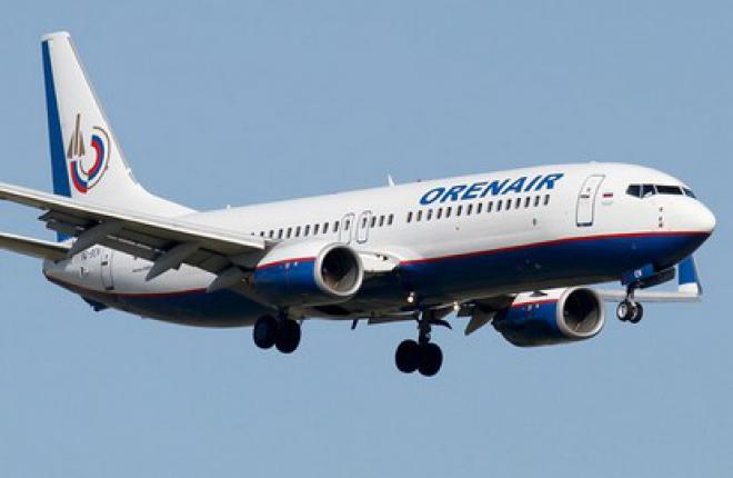 Авиакомпания OrenAir увеличит частоту на маршруте Новосибирск–Москва