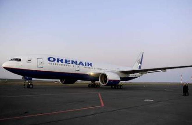 Российская виакомпания OrenAir получила первый самолет Boeing 777