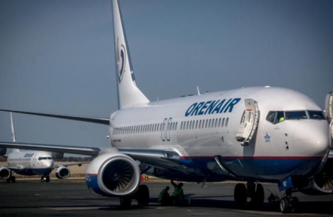 Авиакомпания OrenAir получила 16-й самолет Boeing 737-800