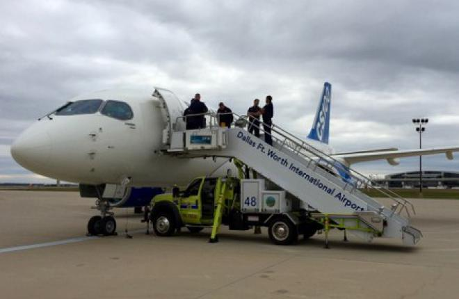 Bombardier завершил сертификационные испытания самолета CS100
