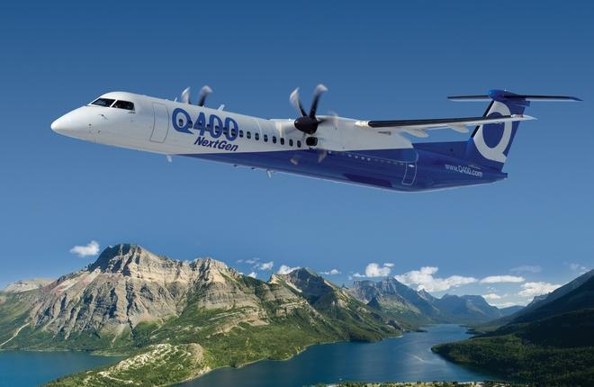 Bombardier сэкономит на производстве Q400