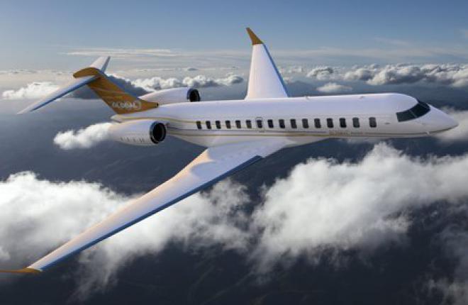 Bombardier отложил ввод в эксплуатацию бизнес-джета Global 7000 на два года