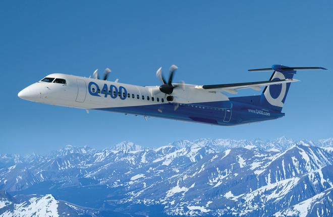 Fokker Services займется ремонтом компонентов для самолетов Q400