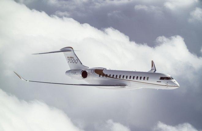 Global 7000 производства Bombardier