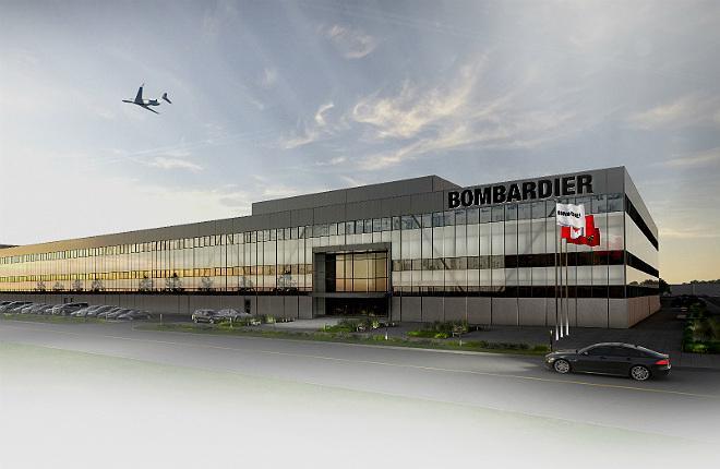 Bombardier сборка Global в Пирсоне