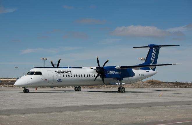 """""""Аврора"""" завершила формирование парка самолетов Bombardier Q400"""