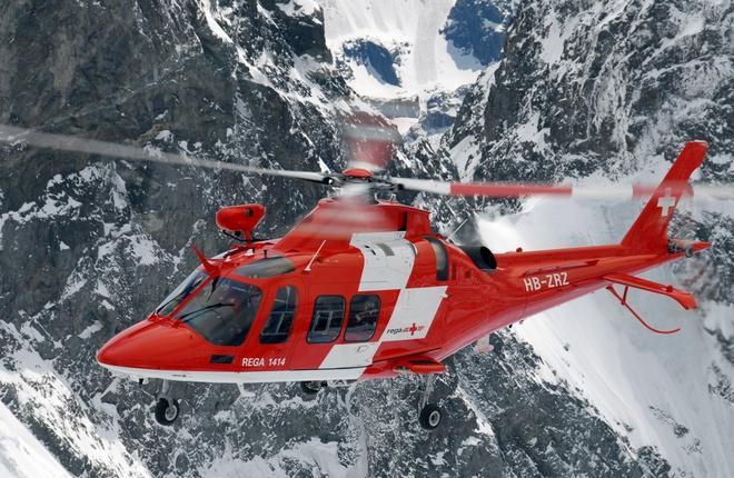 На вертолеты AW109 и AW119 разрешили ставить систему связи Sky Connect Tracker III