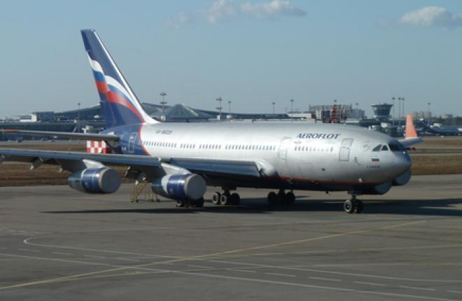 """Авиакомпания """"Аэрофлот"""" продает списанные самолеты Ил-96"""