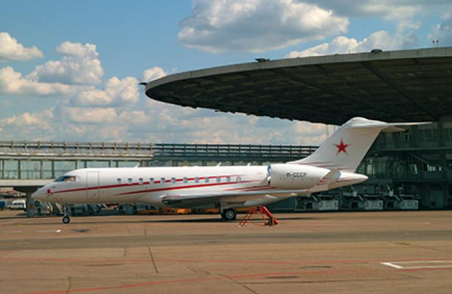 The number of business aviation flights into Russia and the CIS dropped 31% in January-August of 2014