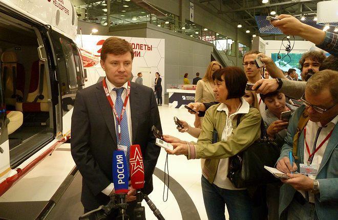 Гендиректор холдинга «Вертолеты России» Андрей Богинский стал главным нюсмейкером HeliRussia-2017