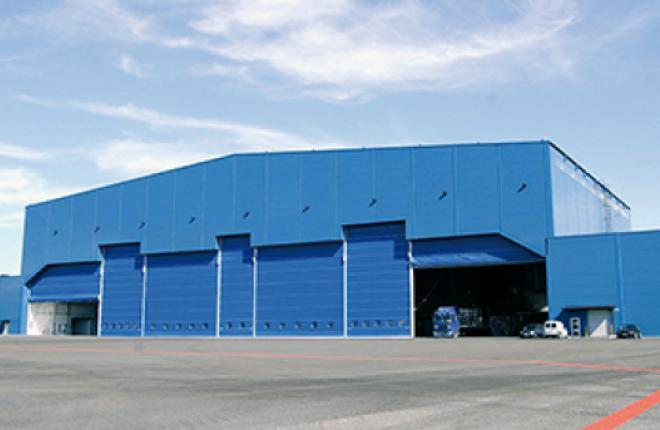 The Panaviatic Maintenance facility sits on some 5,200 square meters of land