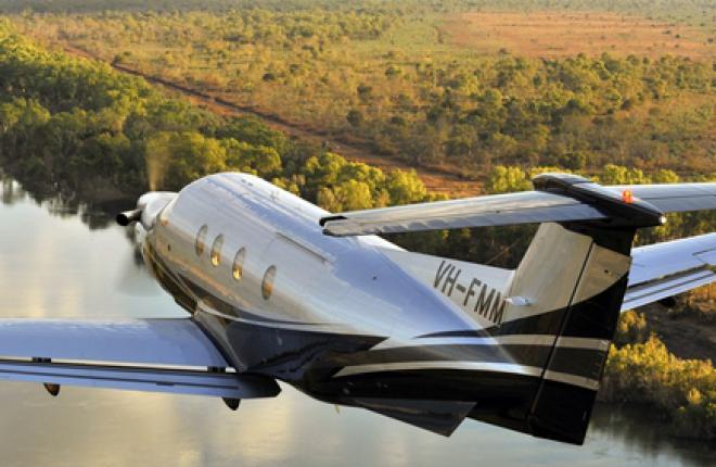 турбовинтовой одномоторный самолет Pilatus PC-12NG: новое поколение