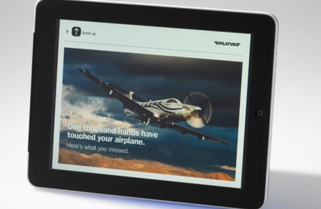 PC-12NG iPad Pilatus Business Aircraft