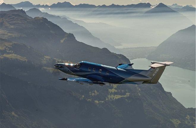турбовинтовой самолет Pilatus PC-12NGX