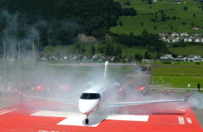 На бизнес-джете Pilatus PC-24 впервые запустили двигатели