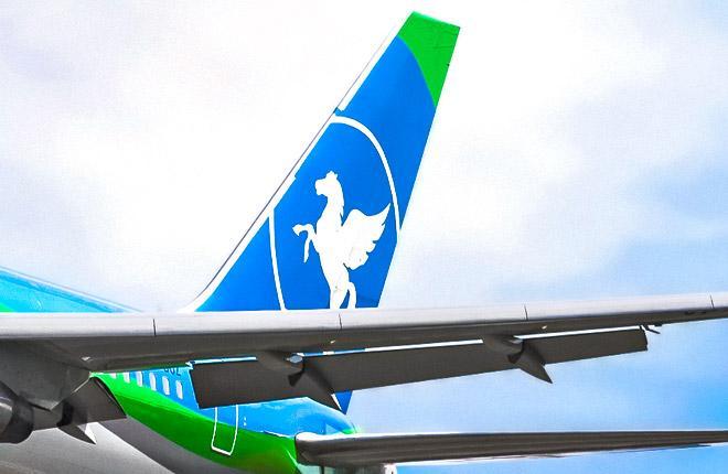 Самолет российской авиакомпании Pegas Fly