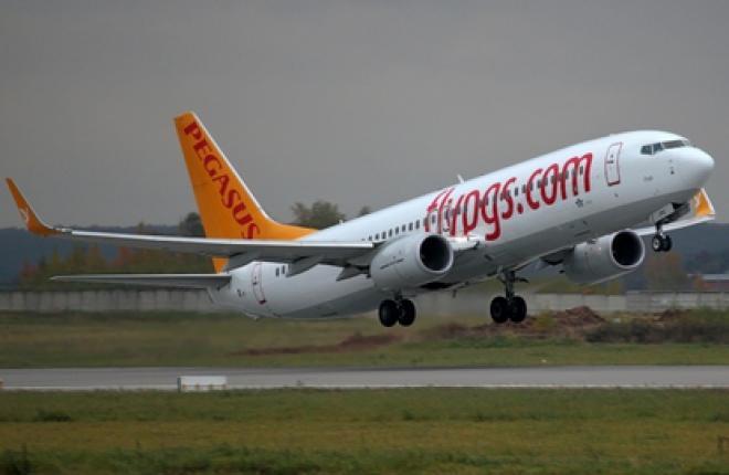 Авиакомпания Pegasus Airlines начала летать между Стамбулом и Москвой