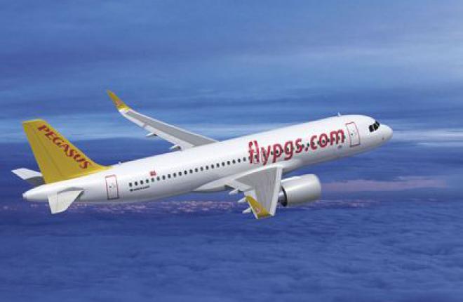 Крупнейший турецкий лоукостер заказал 100 самолетов Airbus A320NEO